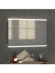 Badkamerspiegel met LED Verlichting Sanitop Twinlight 99x70x3 cm