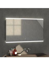 Badkamerspiegel met LED Verlichting Sanitop Twinlight (acht verschillende maten)