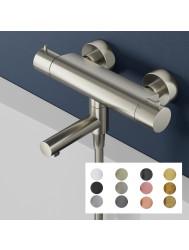 Badkraan Hotbath Cobber Thermostaat Opbouw Draaibare Omstel Uitloop (Verkrijgbaar in 12 kleuren)