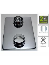 BWS Afbouwdeel Verlengset Douchethermostaat 2-knops 8mm Chroom