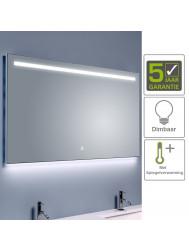 BWS Ambi LED Spiegel Dimbaar One Condensvrij 140x60 cm