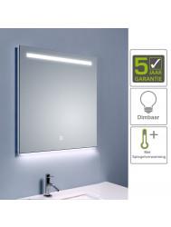 BWS Ambi LED Spiegel Dimbaar One Condensvrij 60x60 cm