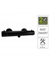 BWS Douchemengkraan Thermostatische Janero Mat Zwart