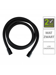 BWS Doucheslang Kunststof 150 cm Mat Zwart