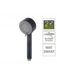 BWS Handdouche Codos Verstelbaar 23.3x8.1 cm Mat Zwart