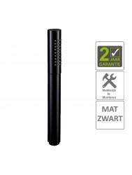 """BWS Handdouche Rond 1/2"""" Messing Mat Zwart"""