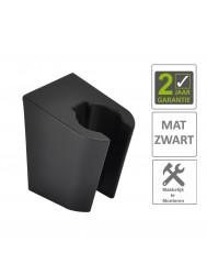 BWS Handdouchehouder Losse Kunststof Mat Zwart