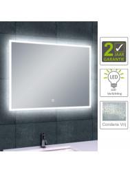 BWS LED Spiegel Quatro Dimbare Condensvrije 100x60 cm