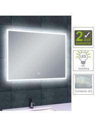BWS LED Spiegel Quatro Dimbare Condensvrije 80x60 cm