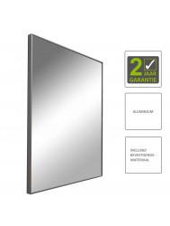 BWS Spiegel Emma Aluminium Met Mat Chromen Uitstraling 50x60 cm