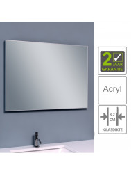 BWS Spiegel Tigris 120x60 cm Aluminium