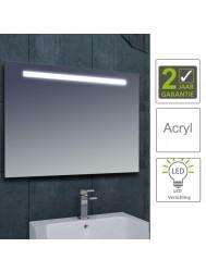 BWS LED Spiegel Tigris met Lichtschakelaar 140x80x3.1 cm (incl bevestigingsmateriaal)