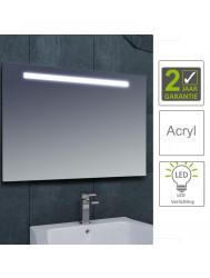 BWS LED Spiegel Tigris met Lichtschakelaar 160x80x3.1 cm (incl bevestigingsmateriaal)