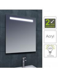 BWS LED Spiegel Tigris met Lichtschakelaar 80x80x3.1 cm (incl bevestigingsmateriaal)
