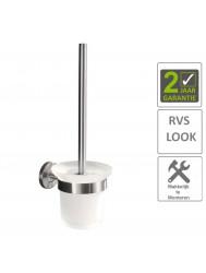 BWS Toiletborstelhouder Hera Met Borstel RVS