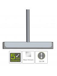 BWS Vloerwisser Luxe Badkamer met Ophanging RVS