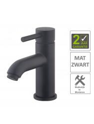 BWS Wastafelmengkraan Codos Laag Model Zwart