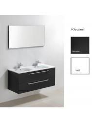 Badkamermeubelset Sanilux Roma 120x46x50 cm (in twee kleuren leverbaar)