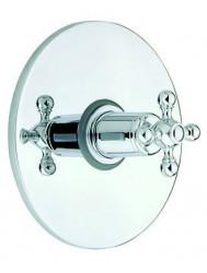 Cisal Arcana Ceramic afdekset inbouwthermostaat 3/4 AC00190021 Chroom