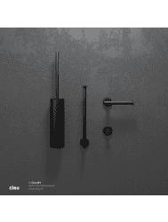 Toiletset Clou Limited Black Accessoire set Mat Zwart