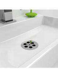 Clou Mini Wash Me Plug Tbv Siliconen Waterstop Chroom