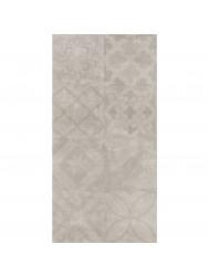 Vloertegel Cristacer Decorado Montblac Gris 33x60cm (Doosinhoud 1,08M²)