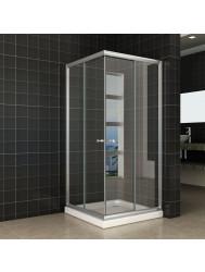 Douchecabine Wiesbaden Eco Hoekinstap 90x90x190cm 5mm Helder Glas