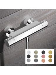 Douchekraan Hotbath Cobber Thermostaat Opbouw Met Doucheslang (Verkrijgbaar in 12 kleuren)