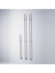 Elektrische Radiator Stick Instamat Jay 82 cm 12W Geborsteld RVS