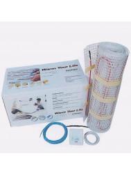 Elektrische Vloerverwarming Mat incl. Klokthermostaat 3m2