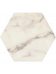 Vloertegel Keope Lux Calacatta 25x21.6 cm (Doosinhoud 1.17M2)