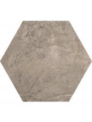 Vloertegel Keope Lux Silver Grey 25x21.6 cm (Doosinhoud 1.17M2)