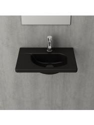 Fontein Creavit 44,5x31x12,5 cm Inclusief 1 Kraangat Mat Zwart