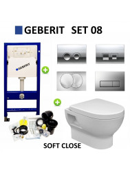Geberit up100 set08 Mercurius met Delta drukplaten