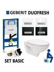 Geberit Duofresh Sigma 40 Hangtoilet Basic