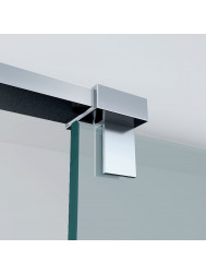 Haakse glaskoppeling chroom tbv stabilisatiestang detail