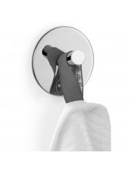 Handdoekhaak Zack Duplo Rond 8,5 cm Zelfklevend RVS
