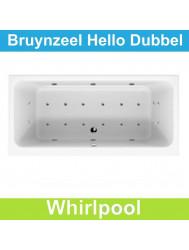 Whirlpool Bruynzeel Hello 180 x 80 cm Dubbel systeem | Tegeldepot.nl