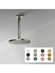 Hoofddoucheset Hotbath Cobber Met Plafondbuis Ø 20cm (Verkrijgbaar in 12 kleuren)