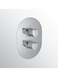 Huber Icon inbouw douche thermostaatkraan chroom 887.05H.CR