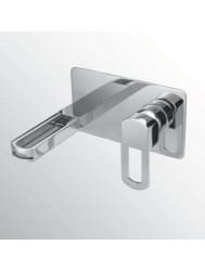 Huber Dado Cascade inbouw wastafelmengkraan chroom DC.002511.21
