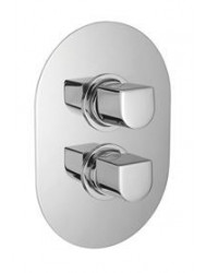 Huber Icon Inbouw thermostaatkraan douche chroom 889.05H.CR