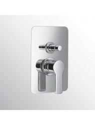 Huber Soft Inbouw Badmengkraan Chroom SF.000210.21