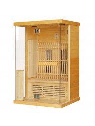 Infrarood Sauna Luna 125x103 cm 1900W 2 Persoons