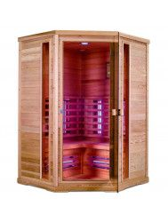 Infrarood Sauna Apollo 130x130 cm 2400W 2 Persoons