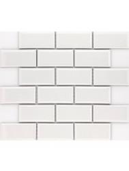 Vloer Mozaiek Jos Strucco Plaster 29x34 cm Gris Blanco Mat (doosinhoud 0.98 m2)