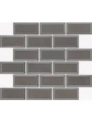 Vloer Mozaiek Jos Strucco Plaster 29x34 cm Gris Grafito Mat (doosinhoud 0.98 m2)