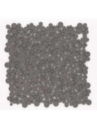 Mozaiek Jos Strucco Plaster Pebbles 30x30cm Grafito (doosinhoud 0.99 m2)