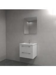 Badkamermeubel Dekker Lavanto Klea 60 cm Hoogglans Wit