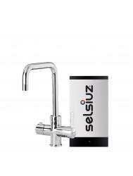 Kokendwaterkraan Selsiuz Haaks Chroom Inclusief Single Boiler